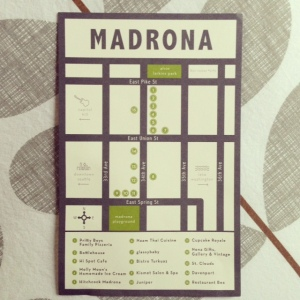 Madrona Neighborhood Map
