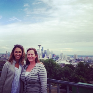 Me, Shannon and the skyline