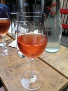 100% merlot rosé at Bottlehouse