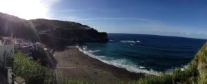 Our beach panoramic