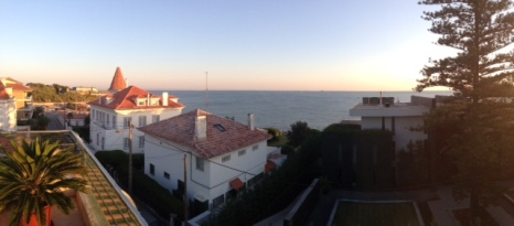 View from my Aunt and Uncle's terrace