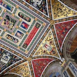 Duomo in Siena, ceiling of the library