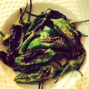 Padrone peppers, ala Luke. Amazing!