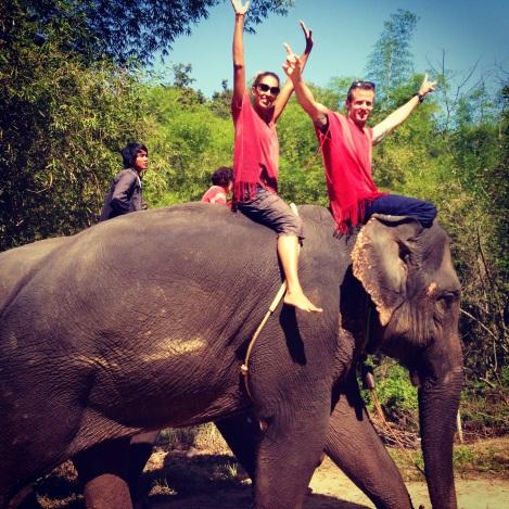 Mowgli Mahout Dance Partners!