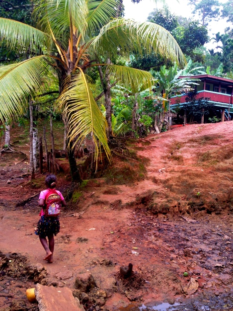 Kia - the biggest village in Isabel ~300 people.