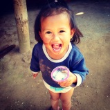 Cutie pie we met in a Hmong village on the cruise. Bought a gorgeous hand woven scarf from her Momma.