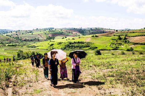 Inle Trek Myanmar