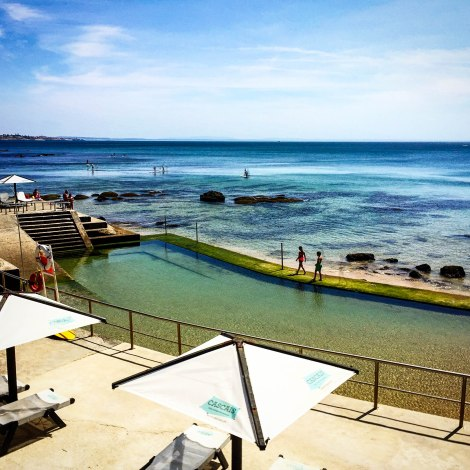 Cascais natural pools